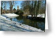 The Cherwell. Greeting Card