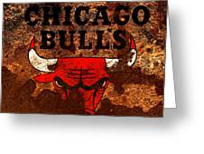 The Chicago Bulls R1 Greeting Card