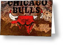 The Chicago Bulls R2 Greeting Card