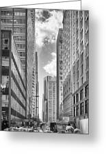 The Chicago Loop Greeting Card
