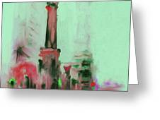 The Chicago Water Tower 535 4 Greeting Card