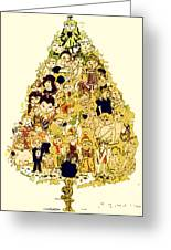 The Children Tree Greeting Card