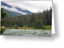 The Chillkoot River 2 Greeting Card