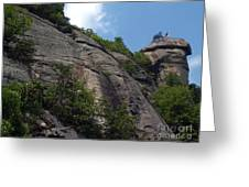The Chimney At Chimney Rock State Park Nc Greeting Card