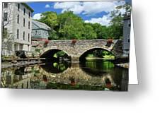 The Choate Bridge Greeting Card