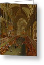 The Choir - Canterbury Cathedral Greeting Card