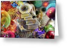 The Christmas Owl  Greeting Card