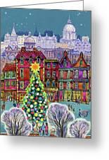 The Christmas Tree Greeting Card