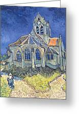 The Church At Auvers Sur Oise Greeting Card