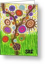 The Circle Tree Greeting Card