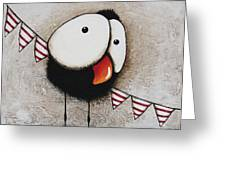 The Circus Crow Four Greeting Card
