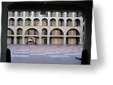 The Citadel In Charleston Iv Greeting Card