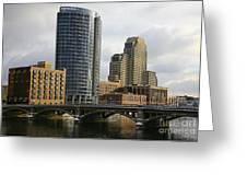 The City Grand Rapids Mi-2 Greeting Card