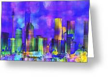 The City  Sydney Greeting Card
