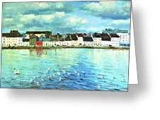 The Claddagh Galway Greeting Card