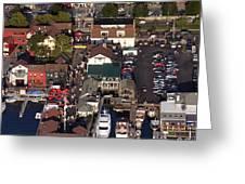 The Clarke Cook House Restaurant P.o. Box 249 Bannisters Wharf Newport Ri 02840 Greeting Card by Duncan Pearson