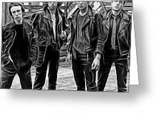 The Clash Collection Greeting Card