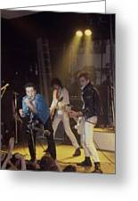 The Clash-london - July 1978 Greeting Card