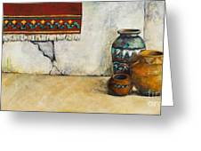 The Clay Pots Greeting Card