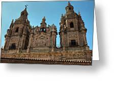 The Clerecia Church In Salamanca Greeting Card