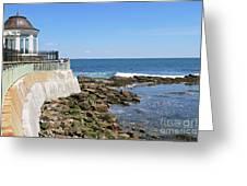 The Cliff Walk Newport Rhode Island 4 Greeting Card