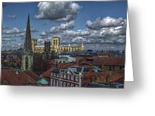 The Clifford Tower View Greeting Card