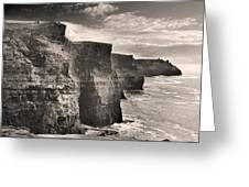The Cliffs Of Moher Greeting Card