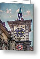 The Clock Of Clocks Greeting Card