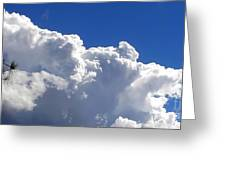 The Cloud Greeting Card