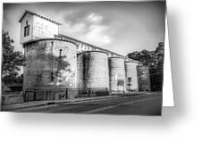 The Coal Silos Greeting Card