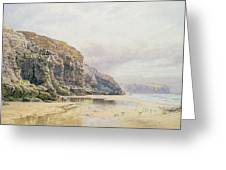 The Coast Of Cornwall  Greeting Card by John Mogford