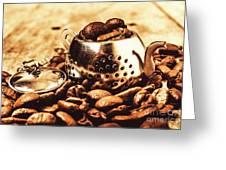 The Coffee Roast Greeting Card