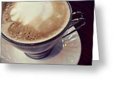 The Coffee Royal Greeting Card