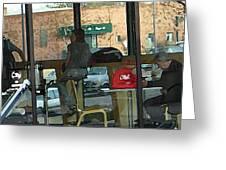 The Coffee Shop Greeting Card