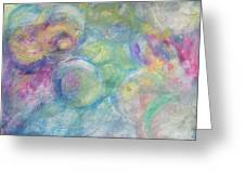 The Color Of Bubbles Greeting Card