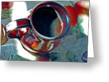 The Color Of Coffee Greeting Card