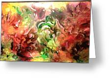 The Colors Of Paradise Greeting Card