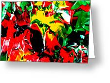 The Colors Of The Caribbeans Greeting Card