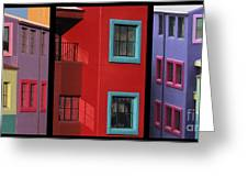 The Colors Of Tucson II Greeting Card