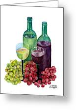 The Colors Of Wine Greeting Card