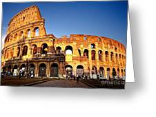 The Colosseum Greeting Card