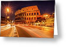 The Colosseum, Rome, Italy Greeting Card