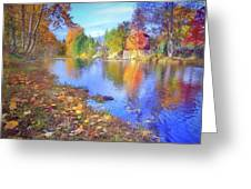 The Colours Of October Greeting Card