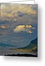The Columbia Gorge Greeting Card