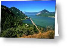 The Columbia Gorge National Scenic Area Greeting Card