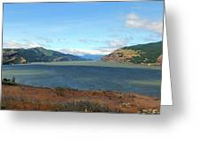The Columbia River Greeting Card