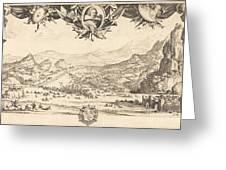 The Combat Of Avigliana Greeting Card