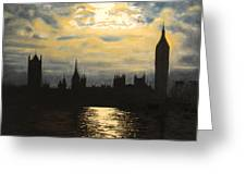 The Commons From South Bank Greeting Card