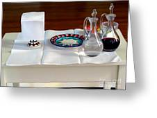 The Communion Table Greeting Card