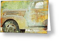 The Company Truck Greeting Card